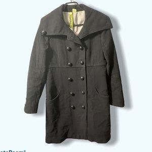 Soia & kyo Wool Blend Double Breasted Coat